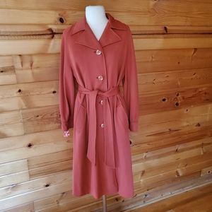 1970s Town & Country Burnt Orange Coat